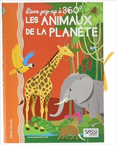 POP UP 360    LES ANINAUX DE LA PLANETE